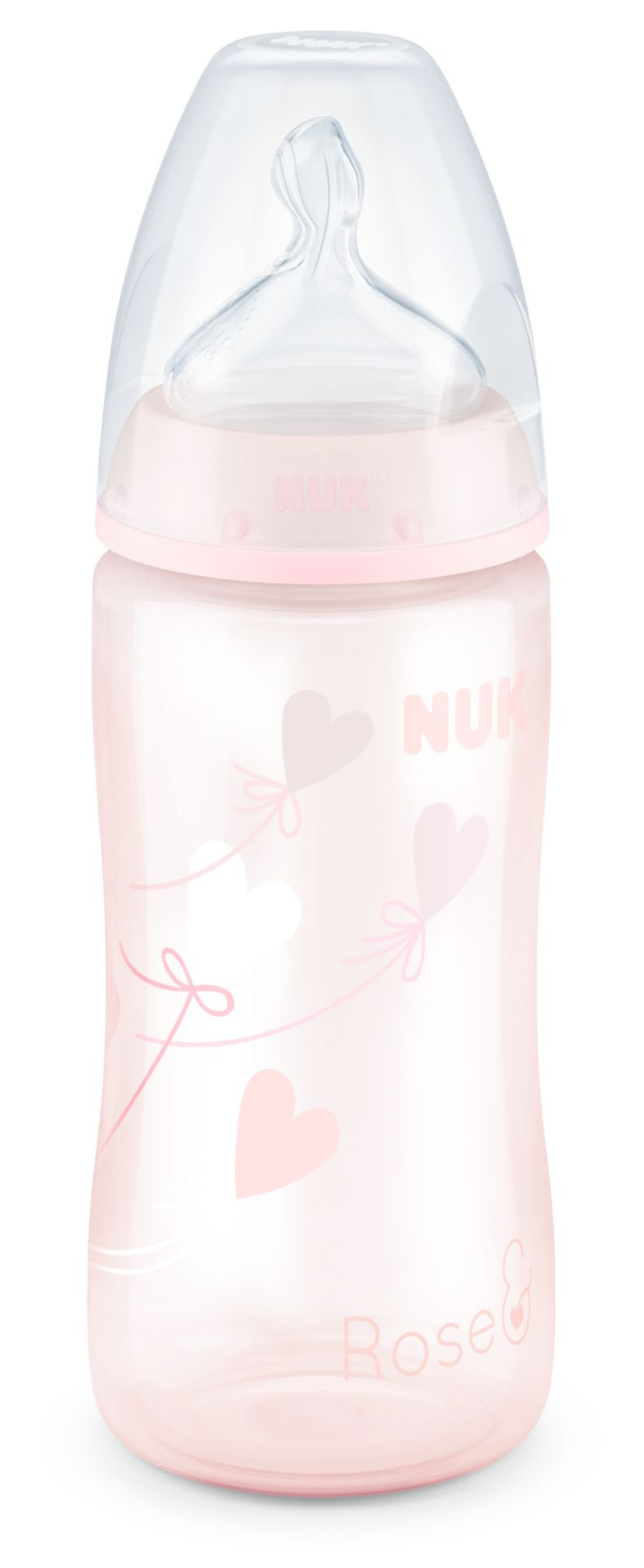 NUK First Choice Plus Starter Set with 4/ Glass Baby Bottle with teats and
