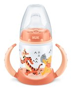 NUK First Choice Learner Bottle Disney Winnie the Pooh -  * The NUK 150 ml First Choice drinking learning bottle with cute Winnie the Pooh design is ideal for the transition from mother´s breast to independent drinking