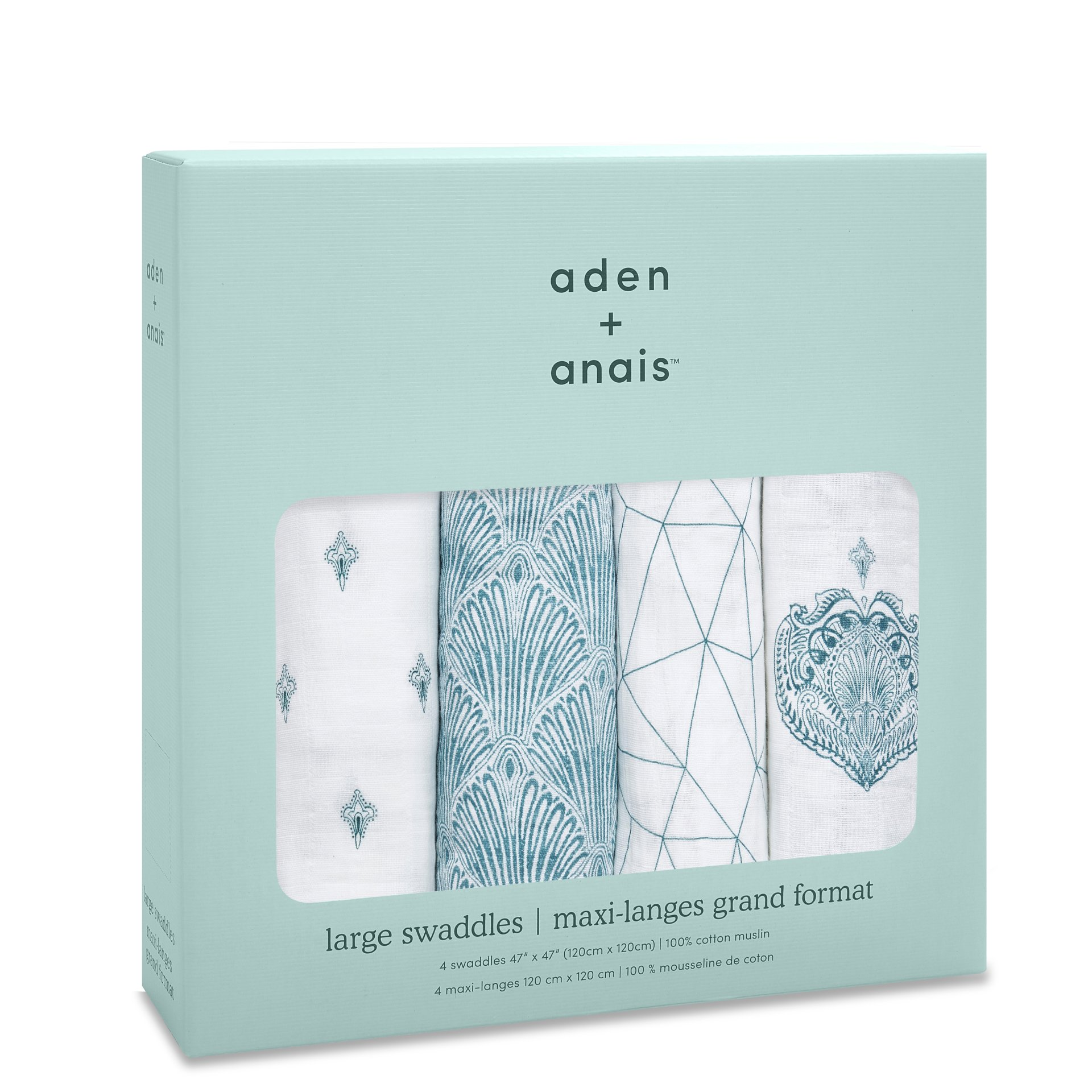 *Price for one only Aden /& Anais Classic 100/% muslin swaddles