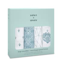 aden+anais Classic Swaddle cloths pack with four pieces - The great versatile swaddles from aden+anais will soon become an important accessory in your everyday live with your little one.
