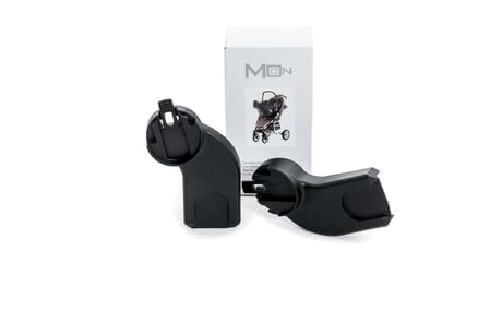 Moon Adapters Kiss and Flac -  * Thanks to the Moon adapters you can easily attach any Infant Car Seat Carrier by Maxi-Cosi, Cybex, Kiddy, Recaro and BeSafe to the chassis of the buggies Kiss and Flac – this way you can transform your buggy into a convenient Travel System in no time at all.