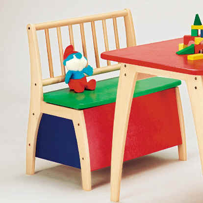 Geuther Chest seat Bambino, multi-colored bunt 2016 - large image