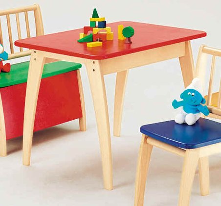 Geuther Table Bambino, multi-colored bunt 2017 - large image