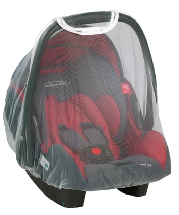 STM Storchenmühle Mosquito net for Twin 0+ infant carrier 2015 - large image