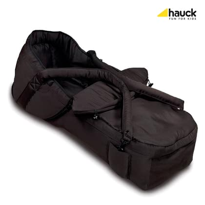 Hauck 2 in 1 Soft Carrycot -  * With Hauck's 2 in 1 soft carrycot you can transform almost any regular pram into a new-born pram. This cuddly carrycot which protects your child in any weather will make him or her feel comfortable and safe.