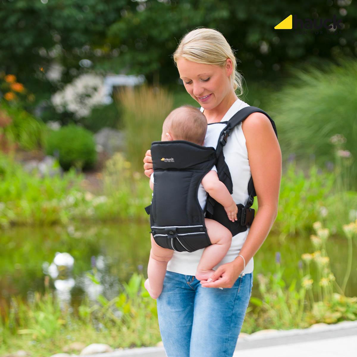 Hauck Babytrage 3-Way Carrier Black TOP