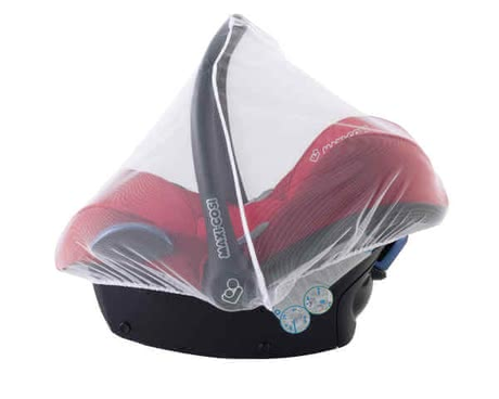 Maxi-Cosi Mosquito Net for Infant Car Seat - * The mosquito net for the Maxi Cosi baby car seat is made of breathable polyester and is suitable for the Cabriofix, Pebble, Rock and Citi SPS