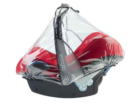 Maxi-Cosi Rain cover for infant carrier - * The Maxi-Cosi rain cover protects your darling from rain and is suitable for the baby car seat Cabriofix, Pebble and Citi SPS