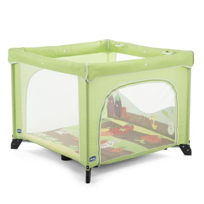 Chicco Playpen Open - * The Chicco playpen Open can be used as a playpen or travel cot!* With playmat and removable play figures.