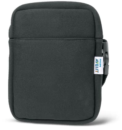 AVENT Neoprene ThermaBag, black -  The chic Neoprene ThermaBag by Avent is light, compact and convenient for travel.
