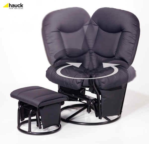 Hauck Still Und Entspannungsstuhl Metal Glider 11 Recline