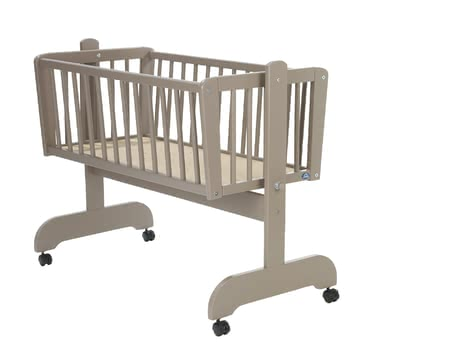 Alvi Cradle Sina -  * The Alvi cradle Sina has a lying area of 40x90cm and 4 braked rolls and make a flexible use possible.