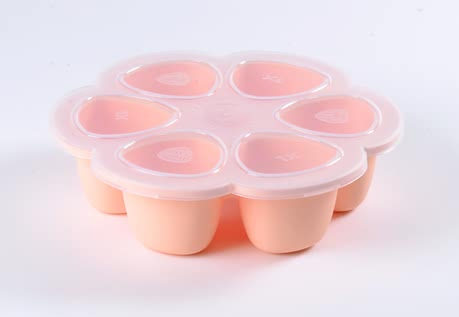 Béaba Silicone Multiportions -  * With Béaba's multiportions you can easily portion and freeze your little one's freshly cooked meal. The innovative design which is sectioned in six small containers which are available in either 60 ml, 90 ml or 150 ml each. Each portion is equal to the ideal meal size for your child (depending on age).