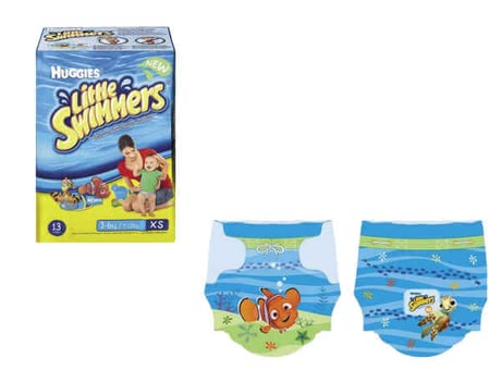 Disposable swimming diapers, 3-6 kg 2013 - large image