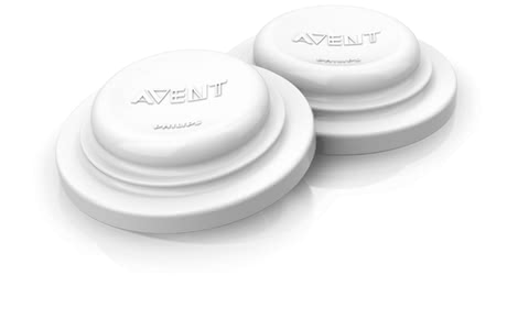 AVENT Sealing Lids -  * With the closure lids you transform all Avent bottles in storage containers for breast milk or baby food.