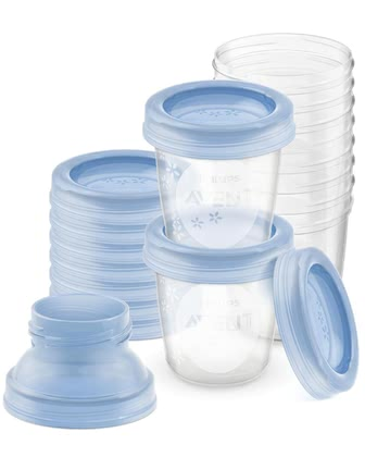 AVENT Breast Milk Storage System -  * The storage system of AVENT is the ideal companion in the first few months with your little darling.