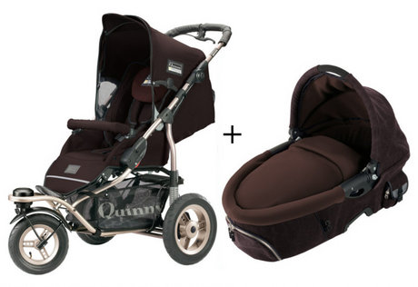 Quinny Freestyle 3XL Comfort pushchair + Dreami Earth 2013 - large image