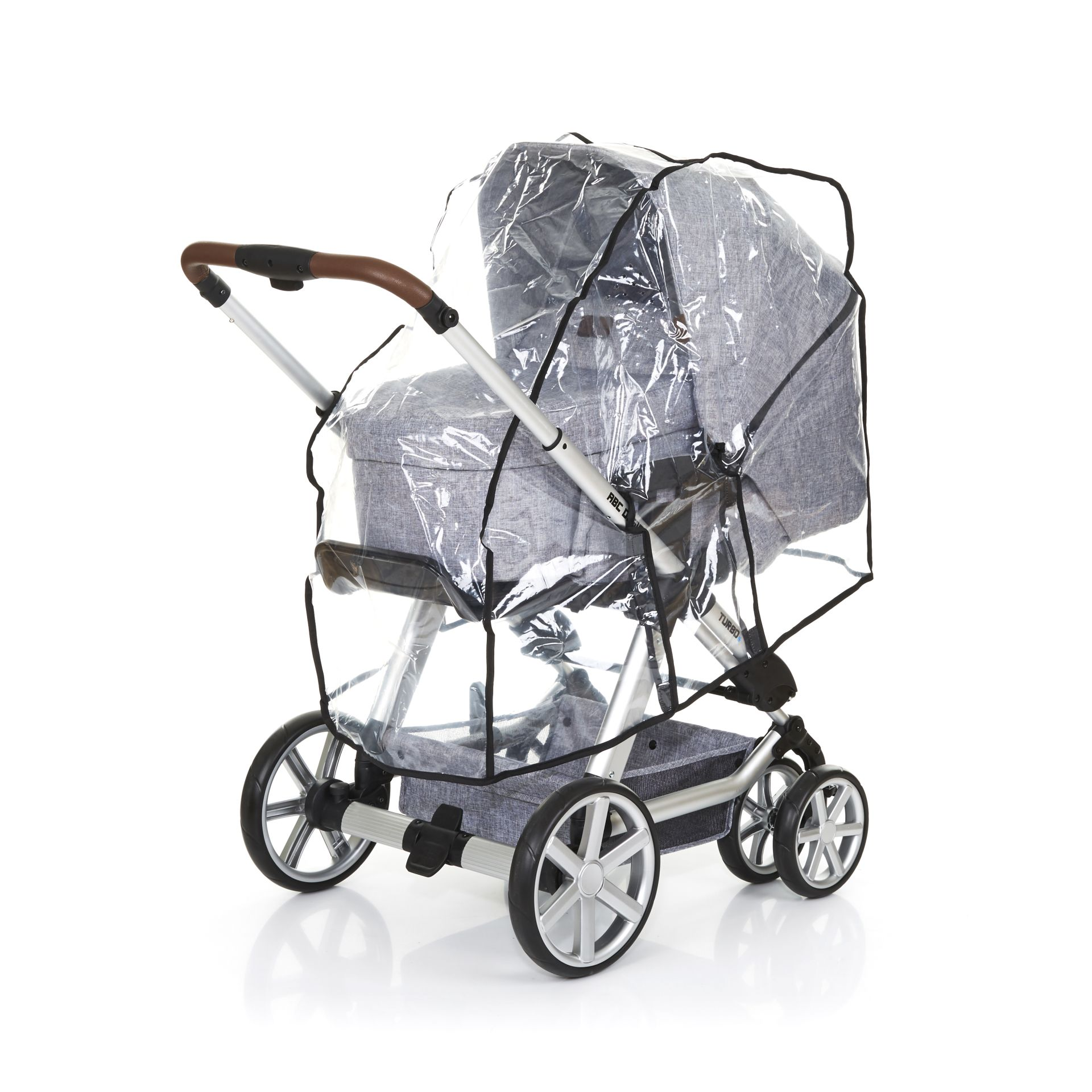 Raincover Compatible With ABC Design Salsa 3 Carrycot