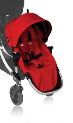 Baby Jogger Second Seat for City Select, Ruby 2012 - large image