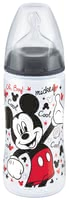 NUK Disney Mickey FIRST CHOICE+ baby bottle, 300ml - The NUK Disney Mickey FIRST CHOICE+ baby bottle has a capacity of 300 ml and is ideal if you want to combine breast and bottle feeding.