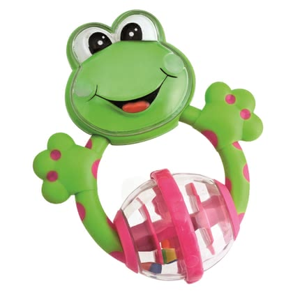 "Chicco Baby Senses Rattle Funny Little Rascals - * The Chicco rattle ""Lustige Rasselbande"" fits ideal in small children hands and provides a lot of rattle-fun"
