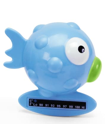 Chicco Bath Thermometer Globe Fish, Light Blue 2012 - large image