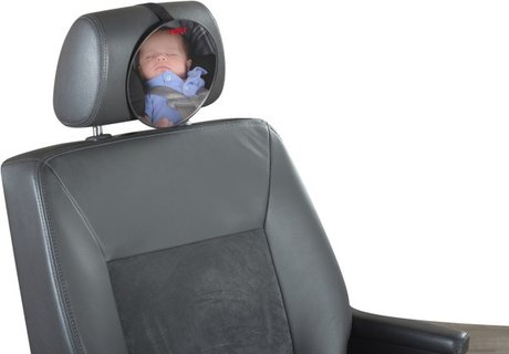 "Reer Safety Mirror ""Safetyview"" - * The Reer safety mirror ""Safetyview"" is a comfortable control mirror for your darling on the rear seat"