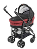 "Recaro Carry Cot, Bellini punched ""Cherry/Black"" 2012 - large image 2"