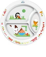 AVENT Toddler Divider Plate -  * With the colorful Avent dishes every meal makes fun.