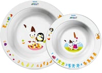 AVENT Bowls Set -  * With the colorful Avent dishes every meal makes fun.