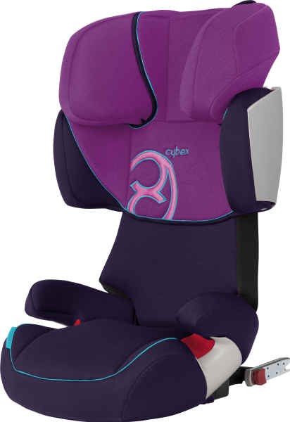 cybex solution x fix komfortoptik 2011 purple potion pink buy at kidsroom. Black Bedroom Furniture Sets. Home Design Ideas