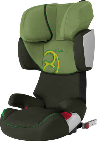 cybex solution x fix komfortoptik 2011 cactus green buy at kidsroom. Black Bedroom Furniture Sets. Home Design Ideas