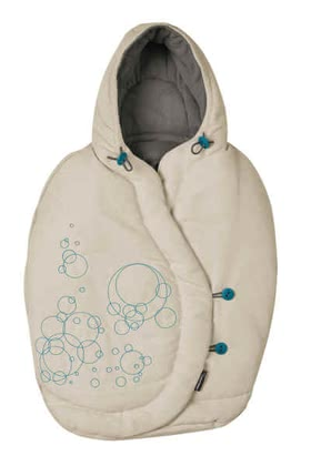 Maxi Cosi footmuff for Baby car seat Pebble 2011, Grain Blonde - large image