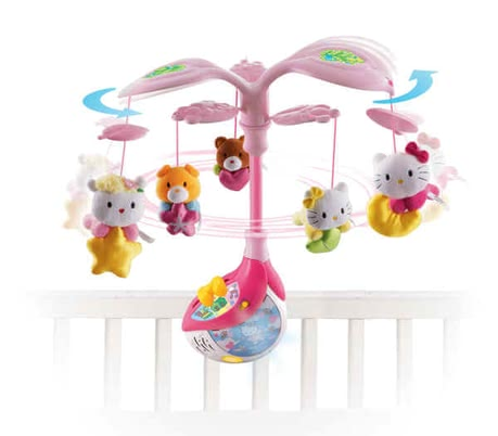 "VTech Hello Kitty ""Sweet Dreams"" mobile 2016 - large image"