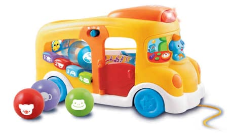 VTech Play and Learn Bus -  * The VTech play and learning bus guarantees a lot of variety and fun
