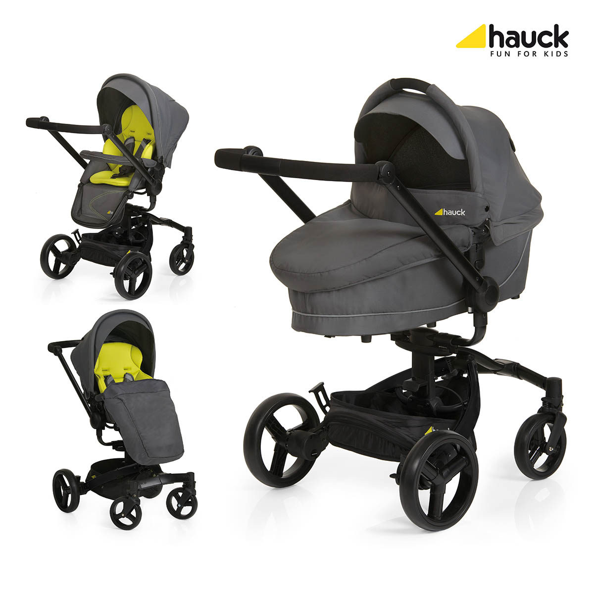 Hauck Twister Duo Set Lime 2016