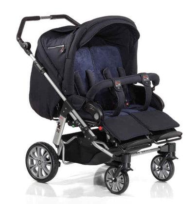 hartan zwillingswagen zx ii 2011 704 buy at kidsroom. Black Bedroom Furniture Sets. Home Design Ideas