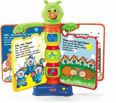 Fisher Price Laugh Learn Song Book 2016 Large Image