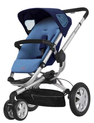 Quinny BUZZ 3 Kinderwagen 2011, Electric Blue - large image