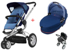 Quinny BUZZ 3 Kinderwagen 2011, Electric Blue + Dreami - large image 1