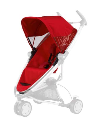 Quinny Zapp Xtra Seat, Rebel Red - large image