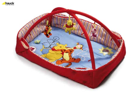 Hauck Activity Center 2 in 1, Pooh lets be Friends red - large image
