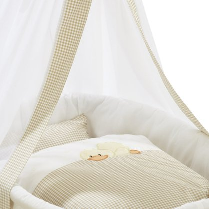 Alvi Cradle set with embroidery Sleeping Duck 2016 - large image