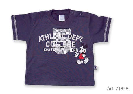 Baby T-Shirt Mickey Mouse - large image