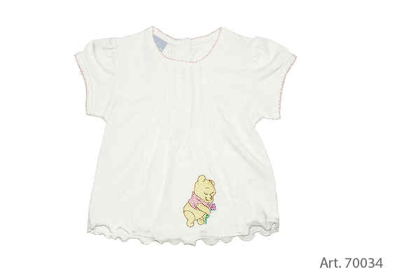 Baby T Shirt Winnie The Pooh Buy At Kidsroom Cartoon