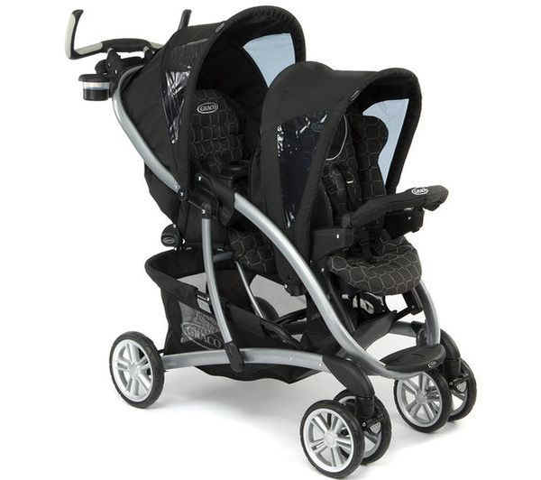 Graco Tandem Quattro Tour Duo Completo 2011 Mode Noir Buy At Kidsroom
