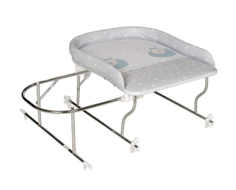 Geuther Varix Bath and Changing Unit (without bathtub) -  * The Geuther Varix bath and changing unit comes with a soft-padded changing mat on which your baby can be pampered after a relaxing bath.