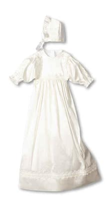 "Leipold christening gown ""Gracia"" incl. bonnet - large image"