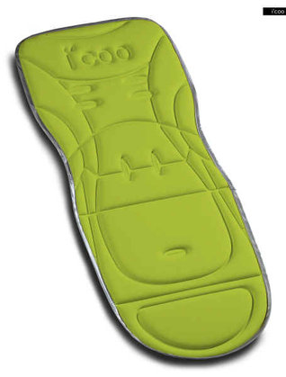 icoo seatpad universal for Pluto 2011 Kiwi - large image