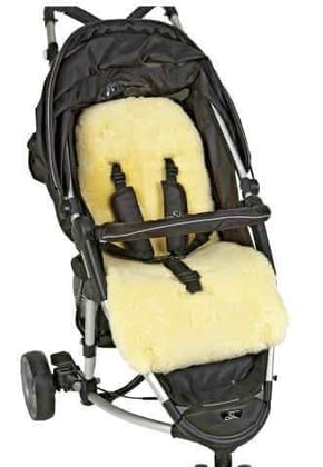 Sheepskin insert for strollers - large image